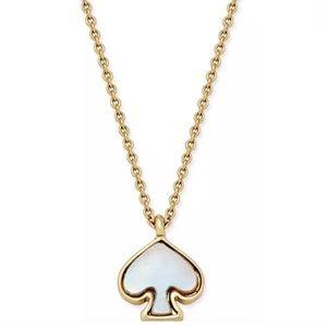 kate spade Jewelry - New Kate Spade Mini Spade Pendant Necklace